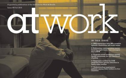 At Work 98 cover