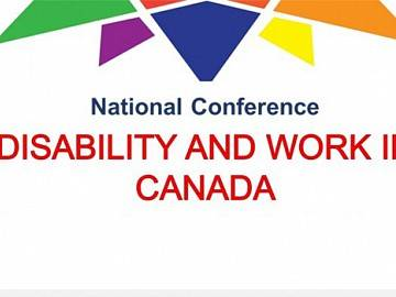 Disability and Work in Canada conference logo