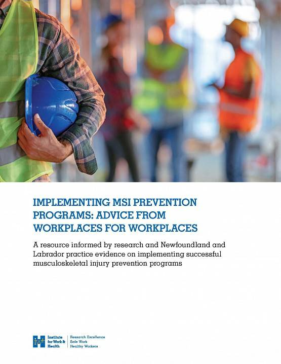 Implementing MSI prevention programs cover image