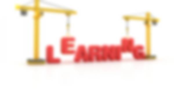 Graphic of cranes hoisting letters in word learning