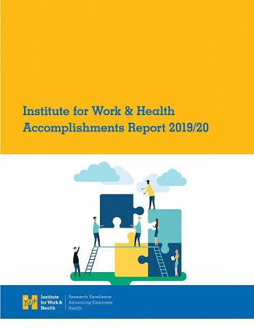 2019-20 Accomplishments report cover