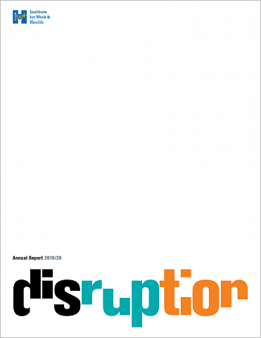 Annual report 2019/20 cover